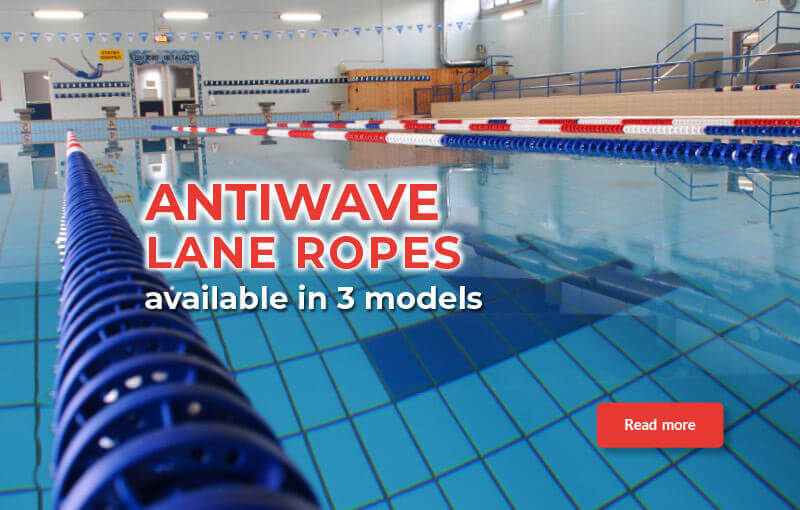 Anti Wave Lane Ropes Available In 3 Models Swimming Pool