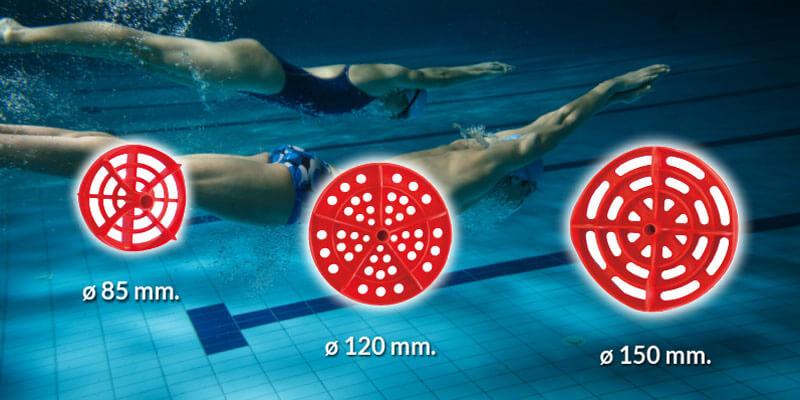 ANTIWAVE DISK for lane ropes - News 96 - Swimming pool