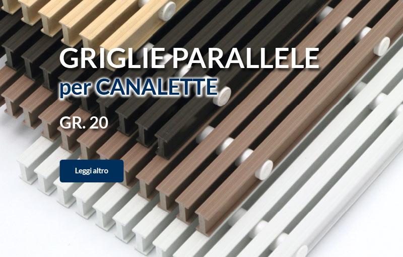 Vendita Griglie per Canalette