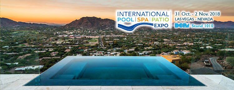 POOL | SPA | PATIO EXPO 2018 – Stand 1010