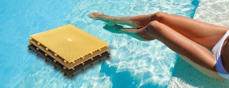 Grip Deck il pavimento in p.v.c. antiscivolo e antibatterico