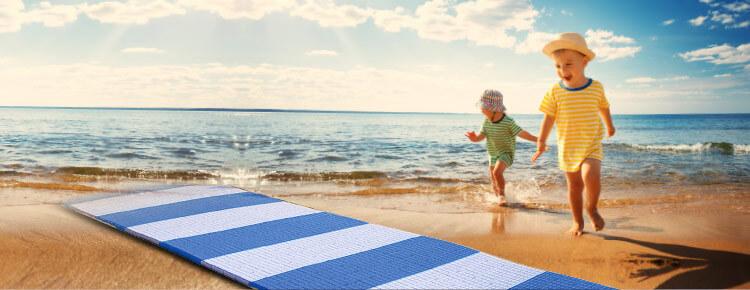 Fast-Floor: à la plage et à la mer de manière SIMPLE et SÛRE