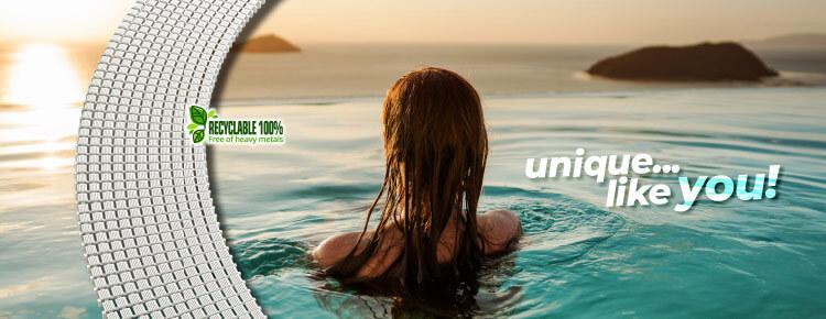Griglia curvabile per piscine a sfioro GR.90