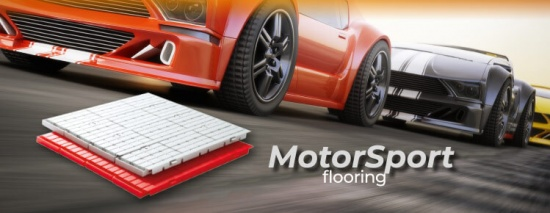 Fast Floor: movable plastic flooring for Motorsport and Events