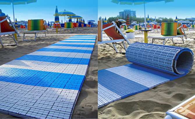 Passerelles pour plages en vente - DEPA