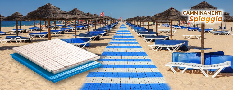 Fast-Floor: the in roll-up plastic walkway for the beach