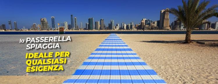 Passerella spiaggia Fast Floor: ideale per qualsiasi esigenza