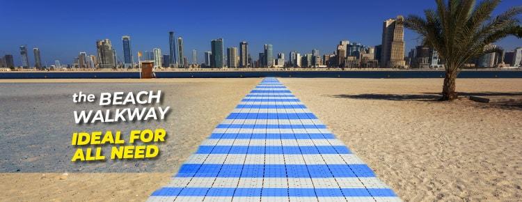 Fast Floor beach walkway: ideal for any need